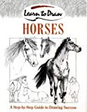 Learn to Draw Horses, David Brown, 0004133609
