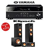 Yamaha RX-V581BL 7.2-Channel Network A/V Receiver + Klipsch RP-260F + Klipsch RP-250C + Klipsch R-112SW - 3.1 Reference Premiere Home Theater Package