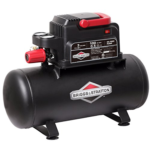 Briggs & Stratton 3-Gallon Air Compressor, Hotdog 074015-00 by Briggs & Stratton (Image #4)