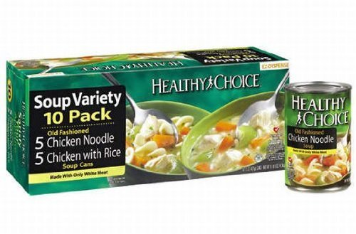 - Healthy Choice Chicken Soup Variety-15 oz, 10 ct by Healthy Choice