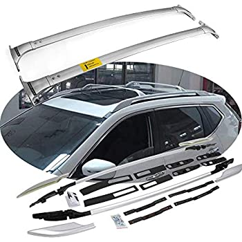 Amazon Com Snailauto Aluminum Alloy Roof Rails Cross Bars