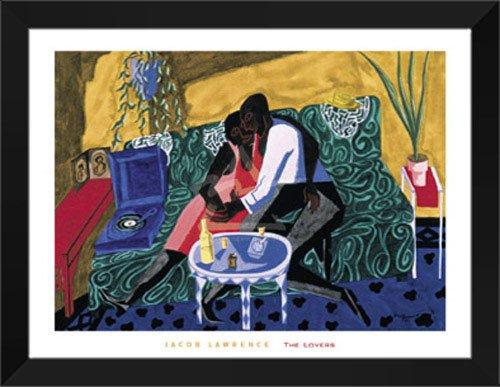 Jacob Lawrence Framed Art Print The Lovers, 1946
