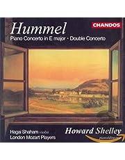 Hummel: Piano Concertos in E major / Double Concerto