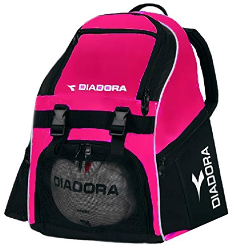 Diadora Squadra Backpack Soccer Bag, Hot (Nike Soccer Backpack)
