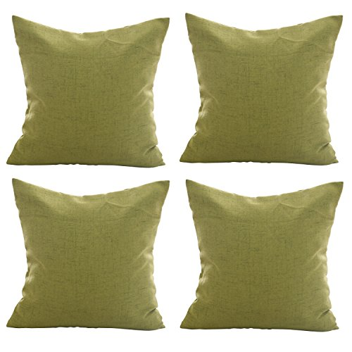Deconovo Cushion Outdoor Pillow Yellow product image