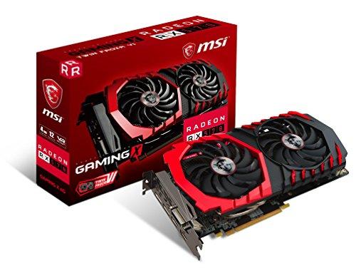 Gaming Radeon RX 570 256-bit 4GB GDRR5 DirectX 12 VR Ready CFX Graphcis Card () - MSI RX 570 GAMING X 4G