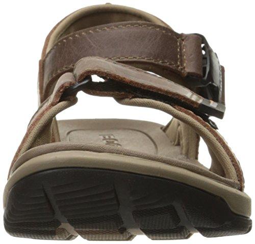 Mossar Kvinna Rio Läder Athletic Sandal Mörkbrun
