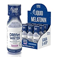 Dream Water Zero Calorie Natural Sleep Aid Drink - 74ml per Bottle - 12 Count