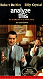 DVD : Analyze This [VHS]