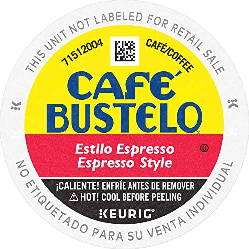 Coffee Pods: Cafe Bustelo