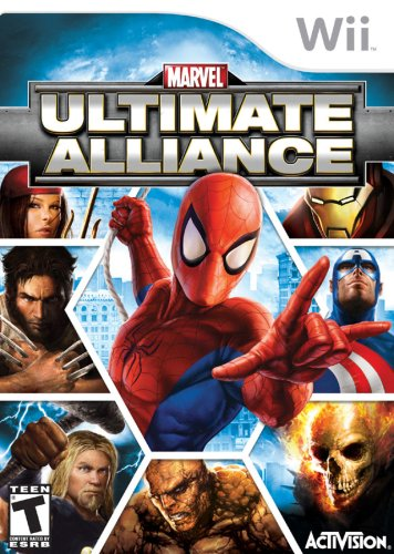 marvel ultimate alliance wii - 1