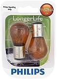 Philips 1157NA LongerLife Miniature Bulb, 2 Pack