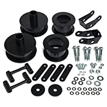 "HeavyMetal - Full Suspension Lift Kit 2.5"" Front + Rear Lift Spacers Jeep Wrangler JK 4x2 4x4"