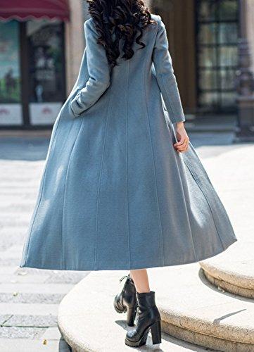 PLAER Damen Blouson Mantel grau Color: gray blue