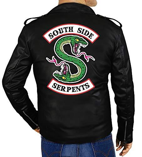 OBX Fashion Riverdale Southside Serpents Leather Jacket (Medium)
