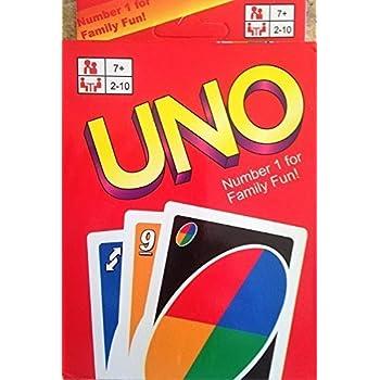 Premium Quality Original UNO Card Game - Kids Toy Game - 108 cards