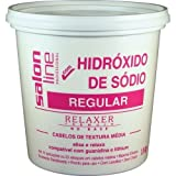 Linha Transformacao (Hidroxido de Sodio) Salon Line - Profissional Medio 1800 Gr - (Salon Line Transformation (Sodium Hydroxide) Collection - Regular Professional Net 63.49 Oz)