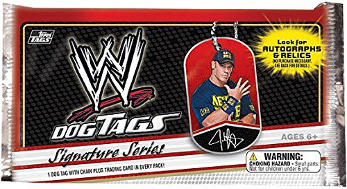 Topps WWE Wrestling 2013 Signature Series Dog Tag Pack