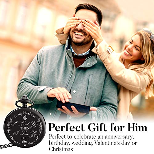 Perfect Wedding Anniversary Gift For Husband: Engraved 'To My Husband