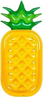 Rangée flottante gonflable ananas air matelas eau rangée flottante lit de sauvetage bouée bouée de sauvetage anneau de natation gonflable lit de drainage