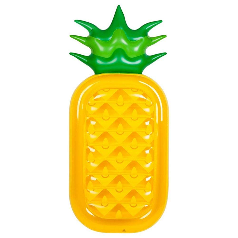 Funarrow Pineapple Float Pool Inflatable Rafts, Giant Inflatable Swimming Pool Floating Lounger Seat Boat Beach Toy for Adults & Children by Funarrow