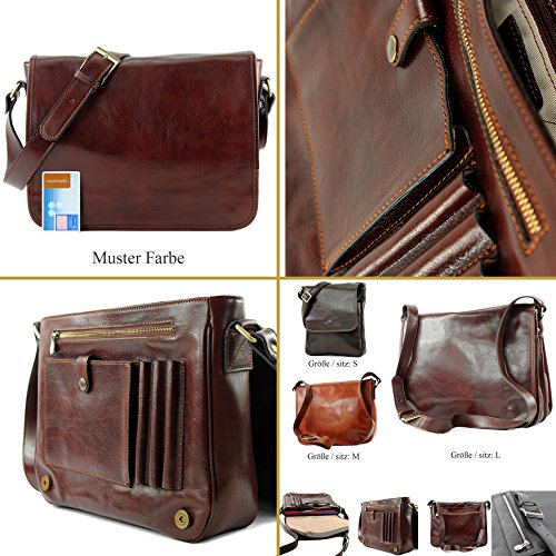 Medium 3 Bag Sizes A001 Italian Handbag Fashionfashion Leather Shoulder Leather A001 Braun Models Handbag Of Rx7qxCYwc0
