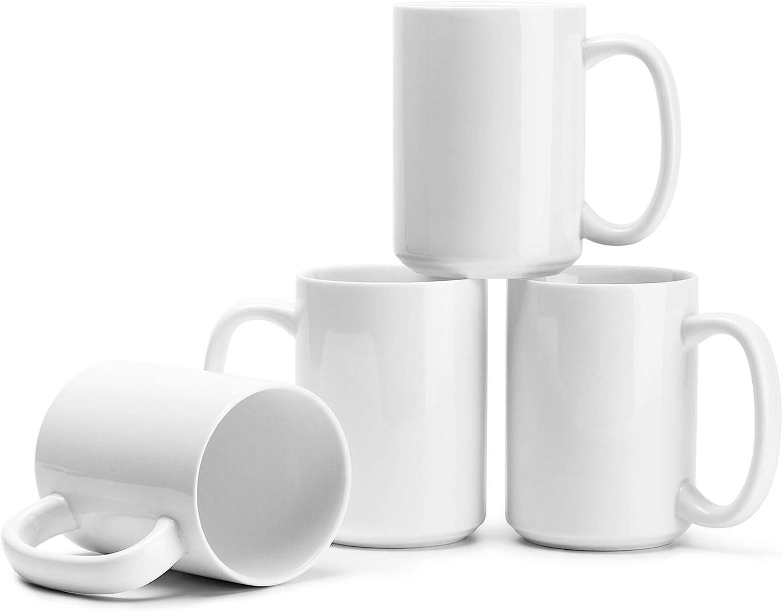 capacidad 95CC ideal para caf/é 6 unidades caf/é t/é caliente tazas de caf/é de vidrio transparente t/é Juego de 6 tazas con asa etc