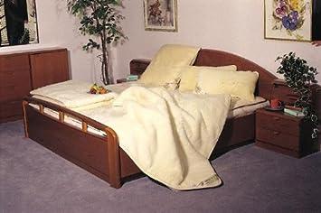 Cubierta de colchón De MERINO Cachemira o Pelo de Camello - Calienta Camas Superficie Colchón Pelo Natural ...