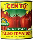 italian plum tomatoes - Cento Plum Tomatoes, 28-Ounce Cans (Pack of 12)