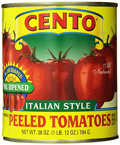 Cento Plum Tomatoes, 28-Ounce Cans (Pack of 12) (Cento Italian Tomatoes)