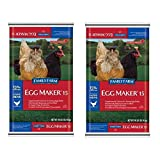 Family Farm Egg Maker Crumble Complete Animal Feed, 40 lb (2 pack)
