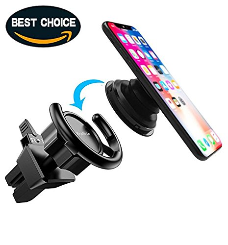 Car Mount For Pop Socket Users, BraSkin Air Vent – Perfect for Phone Cases With Pop Sockets, Easier Navigation, and Calling