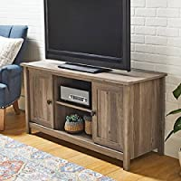 Better Homes and Gardens Lafayette TV Stand for TVs up to 47, Washed Oak Finish