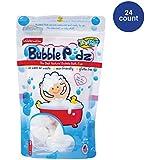 TruKid Bubble Podz, Natural Bubble Bath for sensitive skin, Watermelon Scent, 24 count