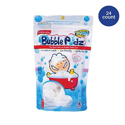 TruKid Bubble Podz, Natural Bubble Bath for senstive skin, Watermelon Scent, 24 count Tree Star Group Inc. 10884