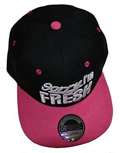 hombre béisbol pink para Fresh Premium Gorra schwarz de Headwear wf7W14Tvq