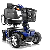 Victory Sport 4-Wheel Electric BLUE Scooter Pride SC710 DXW + Accessories
