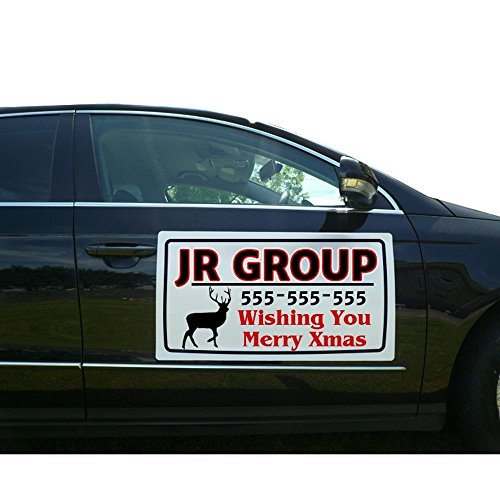 BANNER BUZZ MAKE IT VISIBLE Custom Vehicle Magnetic Signs (Free Design for You) (12