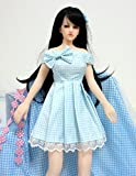 Clothes for 65cm Sex Love Doll Cosplay Clothes Costume Dress,Not for Adult Light Blue Color