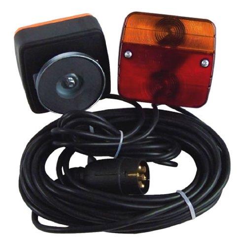 Berger + Schröter 20125 - Kit 2 luci stop supplementari con magnete, cavo e connettore