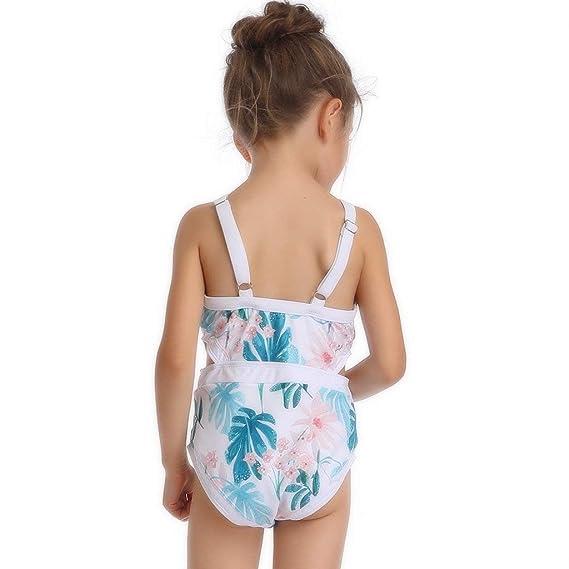 Madre e Hija Bikinis Traje de baño Dos Piezas Ropa Padre Hijo POLP Bikini Ropa de baño Mujer Camisolas Traje de baño una Pieza Niña Conjunto Mamá bebés ...