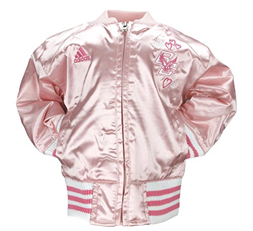 Adidas Boston College Toddler Girls Satin Cheer Jacket (3T) [Baby Product] ()