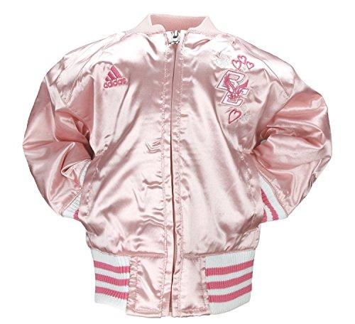 - Adidas Boston College Toddler Girls Satin Cheer Jacket (2T) [Baby Product]