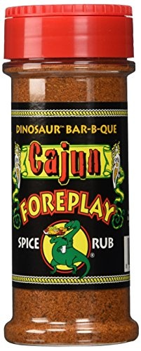 Dinosaur Bar-B-Que Cajun Foreplay Dry Spice Rub - 5.5 oz