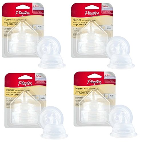 Playtex Drop-ins Naturalatch Silicone Nipple (pack Of 4)