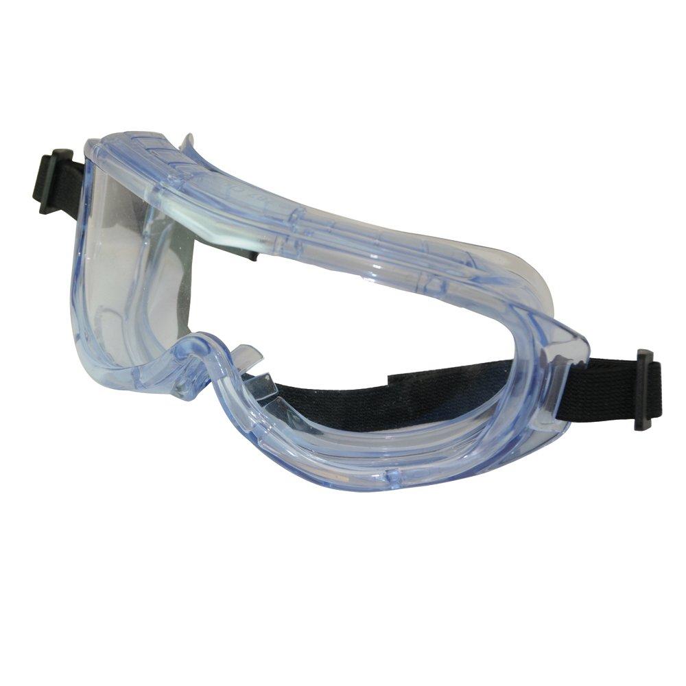 Excelentes gafas de seguridad panorámicas. Marco ligero y lentes de policarbonato.