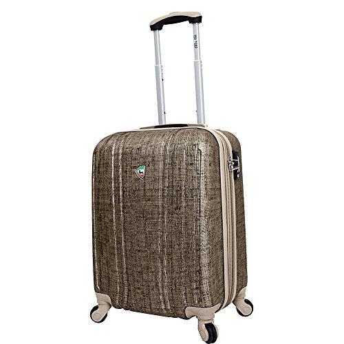 mia-toro-macchiolina-abrasa-hardside-spinner-carry-on-gold-one-size