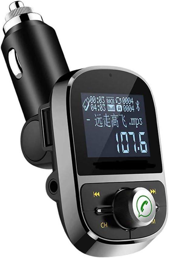 Victsing Bluetooth FM Transmitter Wireless Radio Adapter USB Charger Mp3 Player