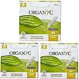 Corman Organyc Compact Regular Tampon 100% Organic Cotton with Plant-Origin Applicator (48 Count)