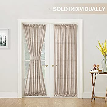Amazon Com Rhf Blackout French Door Curtains Thermal